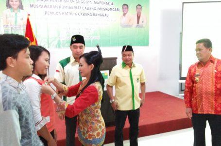 Karolin: Pemuda Katolik 100 Persen Indonesia