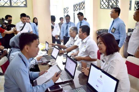 Pejabat Sintang Sampaikan SPT Tahunan Pajak Penghasilan