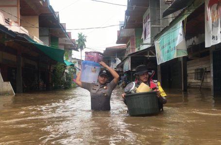 Tiga Kecamatan di Sintang Tenggelam