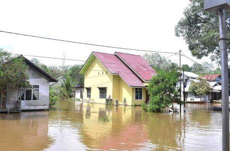 Kota Sintang Mulai Tergenang Banjir