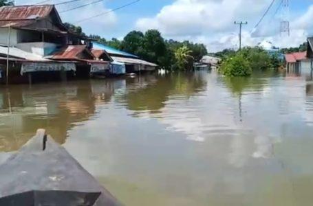 Ribuan Masyarakat Jelai Hulu Mengungsi Akibat Banjir