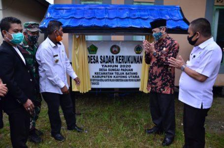 Kayong Launching Desa Sadar Kerukunan