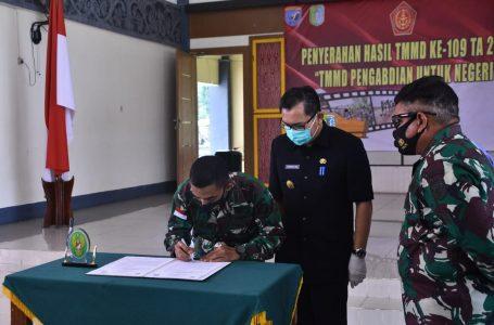 Pjs Bupati Minta Warga Desa Tirta Karya Rawat Jalan TMMD