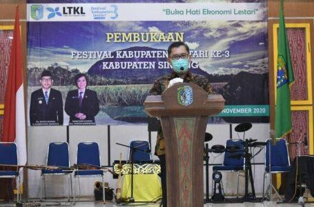 Sintang Gelar Temu Inovasi Lestari dalam FKL