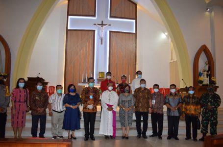 Biaya Pembangunan  Gereja Katolik Keluarga Kudus Pandan Rp 3,7 Miliar