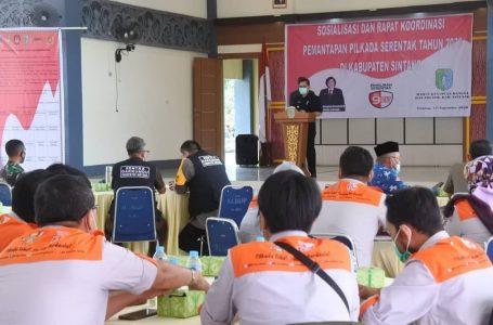 Rakor Pilkada, Anum Ingatkan KPU Sintang