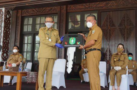 Sanggau Terima Bantuan Ambulance dari Pemprov Kalbar