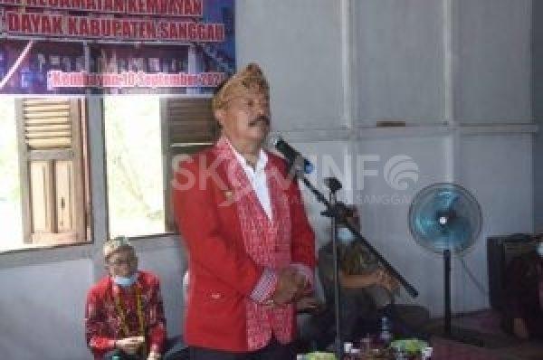 Wakil Bupati Pengurus DAD Kecamatan Kembayan