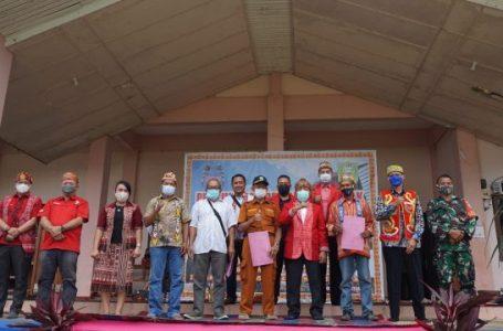 Pelantikan DAD Kecamatan Bonti, Ini Pesan Bupati Sanggau