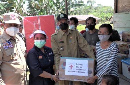 Pemkab Sanggau Bantu Korban Puting Beliung di Desa Bahta